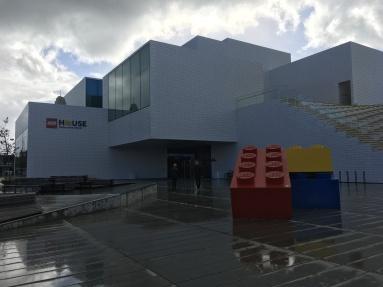 LEGO House on a slightly grim Saturday morning...
