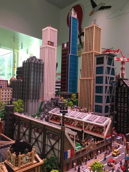 LEGO city-scape